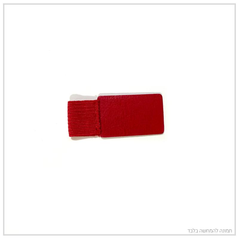 מחזיק עט – אדום